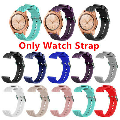 42MM Soft Silicone Sport Watch Band StrapBracelet Best for Samsung Galaxy Watch