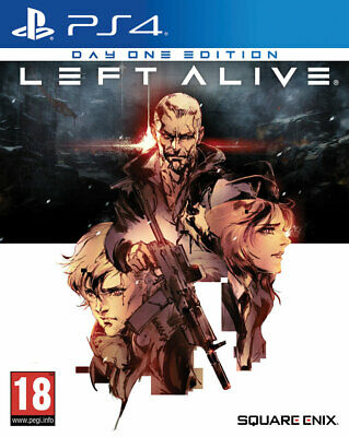 Left Alive - Day One Edition (PS4)  NEW AND SEALED - IN STOCK - QUICK DISPATCH