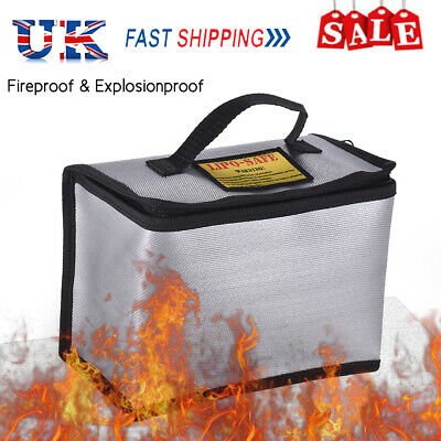 Fireproof Bag Explosion-proof Document Lipo Battery Business Handbag Briefcase