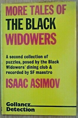 More Tales of the Black Widowers, Isaac Asimov, 1977, 1st UK, HB