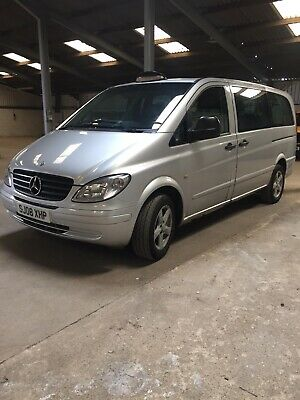 mercedes vito travelliner hackney taxi 9 seater