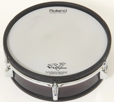 "Roland PD-125BK SNARE 12"" Dual Trigger Mesh Electronic Drum Pad For Electric Kit"