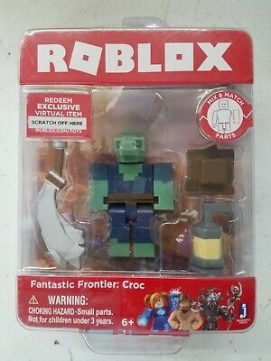 Roblox Fantastic Frontier Croc Single Figure Core Pack with Exclusive Virtual I