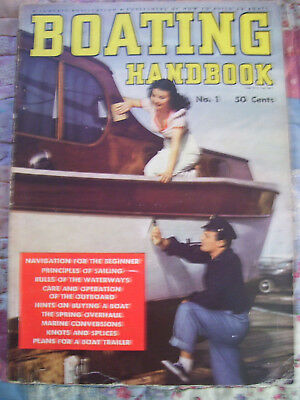 Boating Handbook No. 1 From  1941
