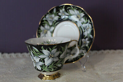 Royal Albert 'Madonna Lily' Provincial Flowers Tea Cup And Saucer