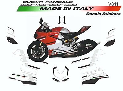 Stickers Kit Customized for Ducati Panigale 899 Two-Seater