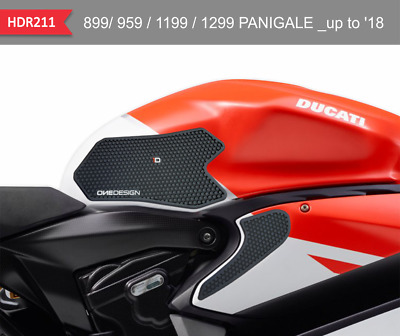 Guards Side Black for Tank and Fairing Ducati Panigale V2