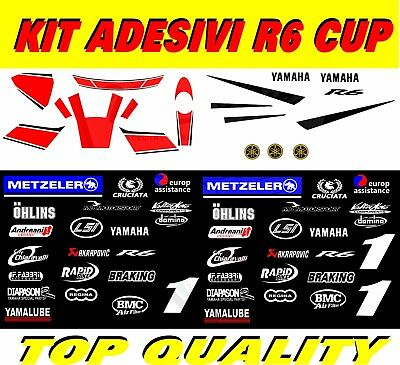 Stickers Kit Yamaha R6 Cup
