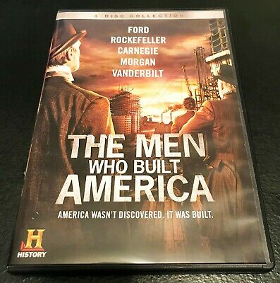 The Men Who Built America - DVD