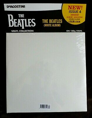 The Beatles LP The White Album Deagostini Doble Vinilo LP y Revista