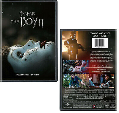 BRAHMS: THE BOY II 2 (2020): Drama, Horror, Mystery, Katie Holmes NEW US Rg1 DVD