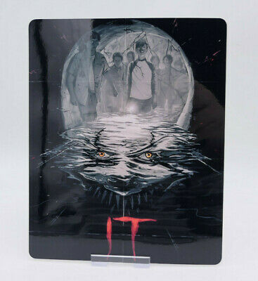 IT (2017) - Glossy Bluray Steelbook Magnet Magnetic Cover (NOT LENTICULAR)