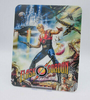 FLASH GORDON - Glossy Bluray Steelbook Magnet Magnetic Cover (NOT LENTICULAR)