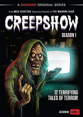 CREEPSHOW 1 (2019): 12 Tales TV Horror Anthology Season Series - NEW US Rg1 DVD