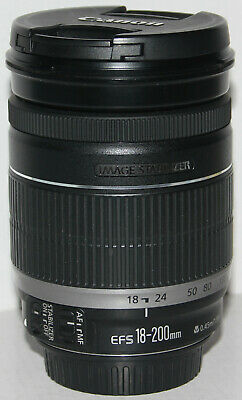 Canon EF-S 18-200mm f/3.5-5.6 IS lens [excellent condition]