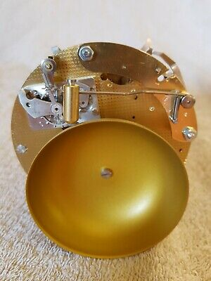 Brand New Hermle 132-071Sg Ships Clock Movement With Bell Strike.