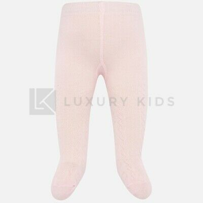 Tights in Warm Cotton with Patterns Embossed Newborn Mayoral 9151