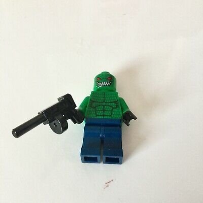 Killer Croc Minifigure bat008 7780 LEGO DC Comics Batman I