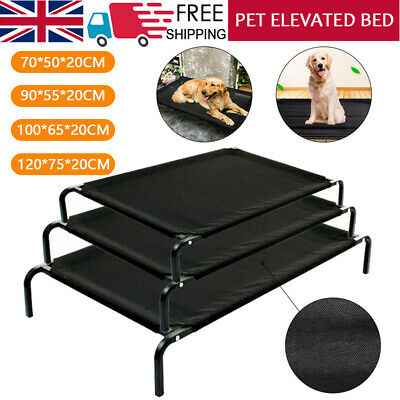 Elevated Foldable Dog Bed Pet Cat Mesh Camping Cot Indoor Outdoor Waterproof