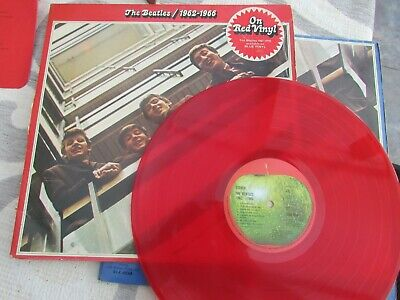 The Beatles 1967-1970 Apple Records Pcsp7171Double LP ON RED VINYL