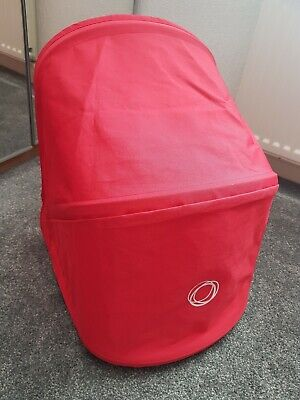 Genuine Bugaboo donkey coral red hood limited edition