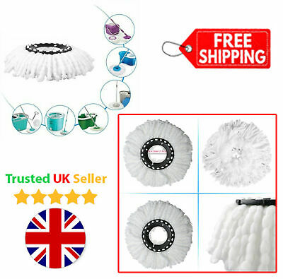 Replacement Mop Microfibre Head Refill For 360 Spin Magic Mop Home Dust Cleaning