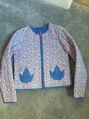 girls marks and spencer Neon Floral Summer Jacket Coat Cardigan  Age 5-6 6-7yrs