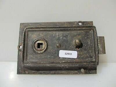 Antique Art Deco Bathroom Door Lock Bakelite Knobs Handles Vintage Old Bolt