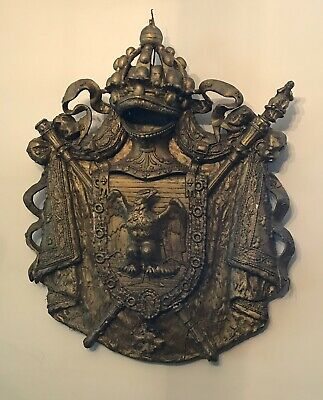 Rare Napoleon 1st Large Coat Of Arms