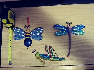 Dragonfly Wall Plaque Set (3)
