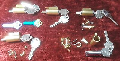 *Lot* Complete And Working Arrow/Schlage Lock Cylinders + Cut Away For Training!
