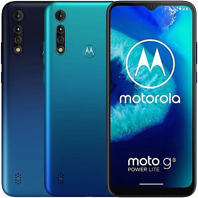 Motorola Moto G8 Power Lite XT2055-2 64GB 4GB RAM (FACTORY UNLOCKED) 6.5""