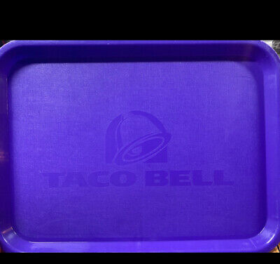 Vintage Taco Bell Food Trays From the early 1990s
