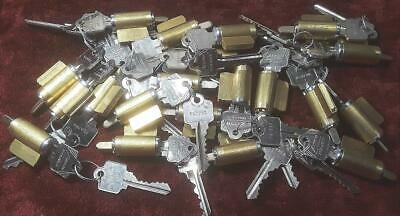 **Near Mint** Big Lot Of 20 Complete And Working Arrow/Schlage Lock Cylinders!