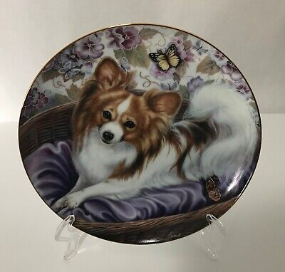 """Danbury Mint Limited Edition  Series Plate """"Butterfly Princess """""""
