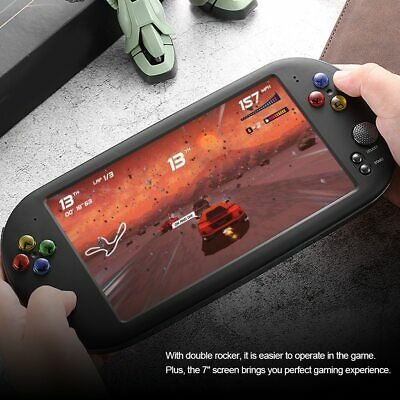 New X16 7-inch portable game console support TV output video playback 16GB | 8GB