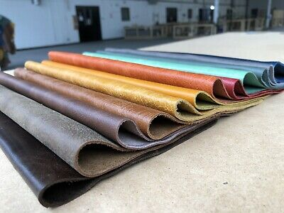 Leather Bundle 12 Pieces 300mm Square Leather Off Cuts In Colours Of Your Choice