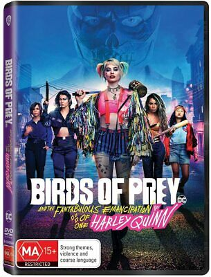 BIRDS OF PREY And the Fantabulous Emancipation of One Harley Quinn: Au Rg4 DVD