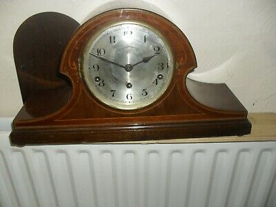 Stunning Inlaid Art deco Westminster chime Mantle clock