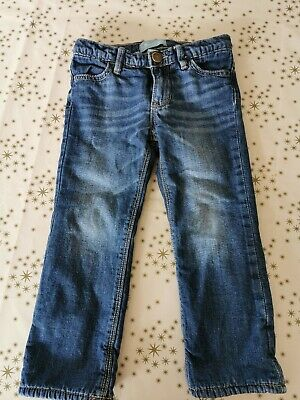 Toddlers Girls Gap Fleece Lined Jeans Age 3 Years