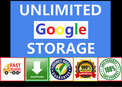 👍 Unlimited Google Drive Storage 🔥🔥🔥 Fast Delivery 🔥🔥🔥 Lifetime Access