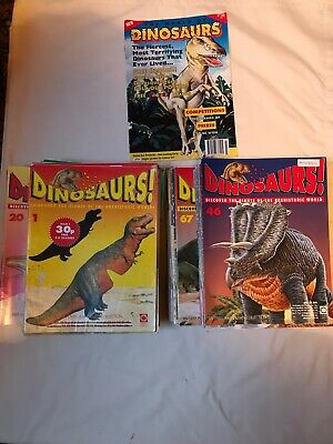Lot of 78 Issues Dinosaurs! Magazines - Orbis Publishing