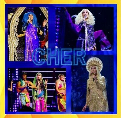 Cher Here We Go Again 2019 Concert 2000 +  Photo Cd Live Tour Sets