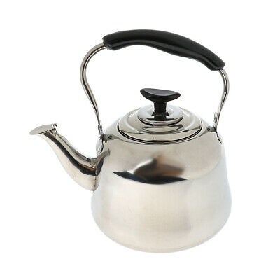 Stainless Steel Whistling Kettle 2 Lt Kitchen Camping Outdoor Portable Camp RV