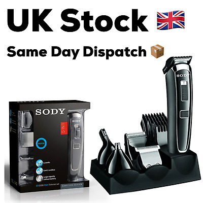 Hair Clippers, Hair Clippers Men, Mens Hair Clippers, Cordless Rechargeable SODY