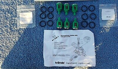 Kranzle 115 125 135 Valve Kit K417481  Pressure Washer Detailingworld Jetwash