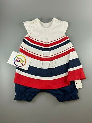 baby girls mothercare stripe smock summer romper al in onel dress shorts outfit