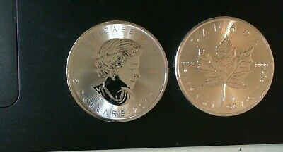 2017 Canada 1 Ounce .9999 Silver Maple Leaf Coin Royal Canadian Mint  In Stock