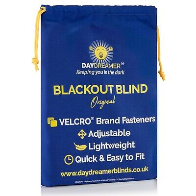 Daydreamer Blinds Velcro Stick On Portable Blackout Blinds - Twin Pack