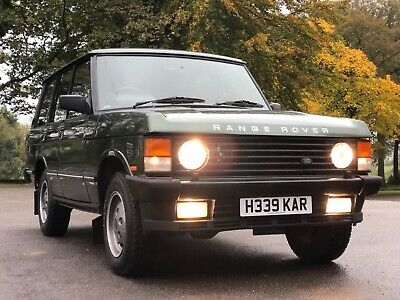 1991 Land Rover Range Rover 3.9 EFI V8 Vogue - Rare Manual Car - Poss PX